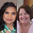 Ms. Archana Carey (Treasurer/Executive Director of Finance & Facilities, Cal-Pac Conference) and Joyce Zirkle (Executive Secretary to Cal-Pac Conference Treasurer)
